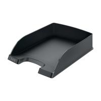 Briefkorb Leitz 5227, stapelbar, Maße: 255 x 357 x 70mm, schwarz