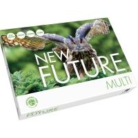 Kopierpapier New Future Multi, A4, 80g, 2fach gelocht, weiß, 500 Blatt