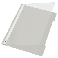 Schnellhefter Leitz 4191, A4, aus PVC-Folie, grau