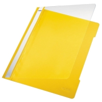 Schnellhefter Leitz 4191, A4, aus PVC-Folie, gelb