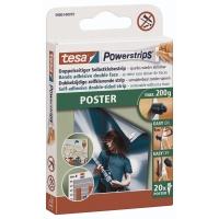 Powerstrips Tesa 58003, Poster, 20 Stück