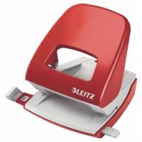 Locher Leitz 5008, Stanzleistung: 30 Blatt, rot