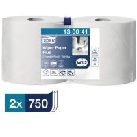 Papierputztücher Tork 130041 Advanced, 2-lagig, Länge: 255m, weiß, 2 Rollen
