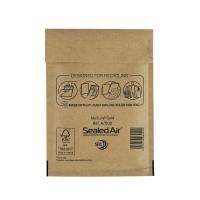 Luftpolstertaschen Mail Lite A/000, Innenmaße: 110x160mm, goldgelb, 100 Stück