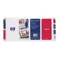 Druckkopf + Reiniger HP C4822A - 80, Inhalt: 17ml, magenta