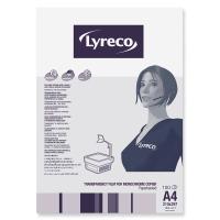 Kopierfolie Lyreco A4 0,10mm seitengeleimtes Papier 100 Stück