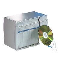 CD/DVD-Box Dataline 67671 Compact, Maße: 162x220x133mm, für 50 Stück, grau