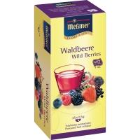 Tee Meßmer 586637 Waldbeere, 25 Beutel a 2g