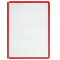 Sichttafeln Durable 5606 SHERPA, A4, rot, 5 Stück