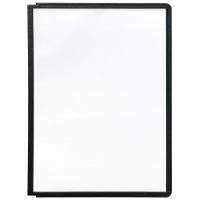 Sichttafeln Durable 5606 SHERPA, A4, schwarz, 5 Stück