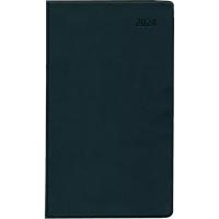 Taschenkalender 2018 Zettler 530, 1 Monat / 2 Seiten, 9,5x16cm, schwarz