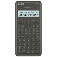 Taschenrechner Casio FX-82MS, 10 / +2stellig, Solar-/Batteriebetrieb, grau