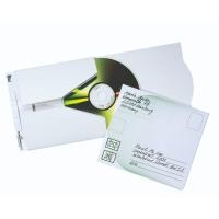 CD/DVD-Brief Durable 5211 ohne Fenster Innenmaße: 120x120mm weiß 5St