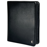 Ringbuch Chronoplan 50163 Mobil Einsteiger, A5, Kunstleder, schwarz