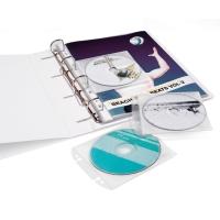 CD/DVD-Hülle Durable Cover Easy 5223-19 für Ordner oder Ringbücher, 10 Stück
