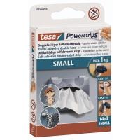 Powerstrips Tesa 57550, klein, 14 Stück