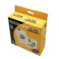 CD/DVD-Hüllen Fellowes 90690 aus Papier 50 Stück, weiß