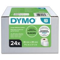 500 BESCHRIFTUNGS ETIKETTEN WEIß 25x54mm für DYMO Labelwriter LW450 LW450 Duo