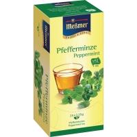 Tee Meßmer 586638 Pfefferminztee, 25 Beutel a 2,25g