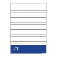 Kanzleipapier Aurora, holzfrei, A3/A4, liniert, 250 Blatt