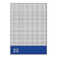 Kanzleipapier Aurora, holzfrei, A3/A4, kariert, 250 Blatt