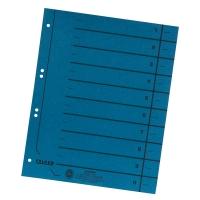 Trennblätter A4, durchgefärbt, blau, 100 Stück