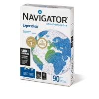 Inkjetpapier Navigator Expression, A4, 90g, weiß, 500 Blatt