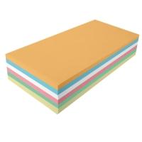 Moderationskarten OTC M301-99, Rechtecke 95x205mm, 130g, 6-farbig sort., 250 St.