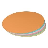 Moderationskarten OTC M304-99, Ovale 370 x 220mm, 130g, 6-farbig sort., 100 St.