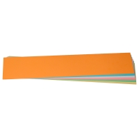 Moderationskarten OTC M302-99 Streifen 95x520mm, 130g, 6-farbig sort., 100 St.