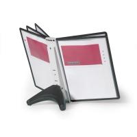 Sichttafel-Tischständer Durable Sherpa 5540, inklusive 5 Tafeln