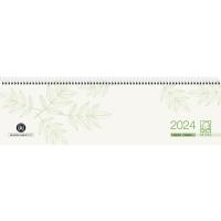 Tischquerkalender 2018 Zettler 136UWS, 1Woche / 2Seiten, 36x10,5cm, Recycling