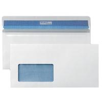 PREMIUM KOMPAKTBRIEFHÜLLE, 112x225 mm, mit Fenster, SK, weiß, 500 Stück