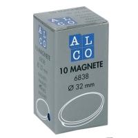 Haftmagnet Alco 6838, Durchmesser: 32mm, blau