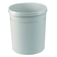 Papierkorb HAN Grip 18190, Fassungsvermögen: 18 Liter, grau