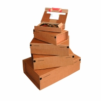 Versandkarton Colompac Paket POST, Größe XL A3+, Innenmaße 460 x 310 x 160mm