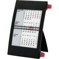 3-Monats-Tischkalender 2018/2019 Bühner JK2, 3 Monate / 1 Seite, 11 x 18cm