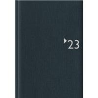 Buchkalender 2018 Zettler 869, 1 Tag / 1 Seite, A5, anthrazit