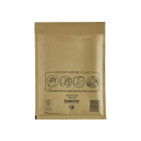 Luftpolstertaschen Mail Lite D/1, Innenmaße: 180x260mm, goldgelb, 100 Stück