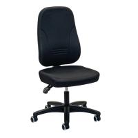 Bürostuhl Prosedia Younico 1451, hohe 3D-Rückenlehne, 3 Stunden-Stuhl, schwarz
