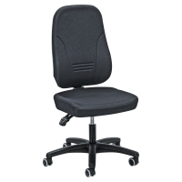 Bürostuhl Prosedia Younico 1451, hohe 3D-Rückenlehne, 3 Stunden-Stuhl, grau