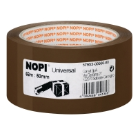 Packband Nopi 57953, 50mm x 66m, braun