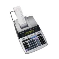 Tischrechner Canon MP-1211LTSC, druckend, 12stellig, Netz-/Batteriebetrieb, w/sw