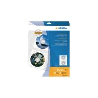 CD/DVD-Abhefthülle Herma 7682, für 2 CD/DVDs, transparent, 10 Stück