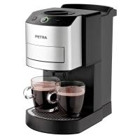 Kaffeepadautomat Petra KM 44.07, One Touch Funktion, schwarz