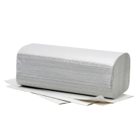 Falthandtuch Fripa 4011103, 1-lagig, Recycling, 20 Bündel a 250 Tücher