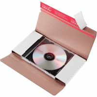 CD/DVD-Brief Colompac CP42.01 mit Fenster Innenmaße: 225x125x12mm weiß