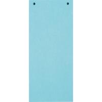 Trennstreifen 24 x 10,5cm, blau, 100 Stück