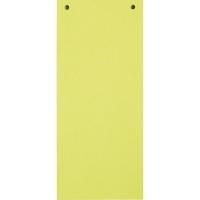 Trennstreifen 24 x 10,5cm, gelb, 100 Stück