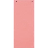 Trennstreifen 24 x 10,5cm, rosa, 100 Stück